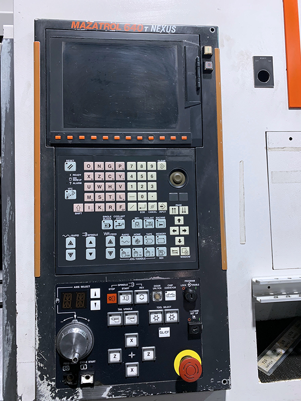 Used CNC Turning Center Mazak Quick Turn Nexus 250 M 2005