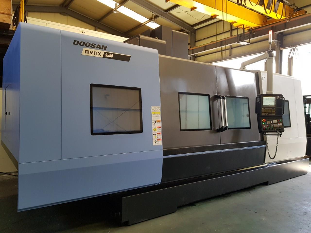 Used Vertical Machining Center Doosan Mynx 9500 2016