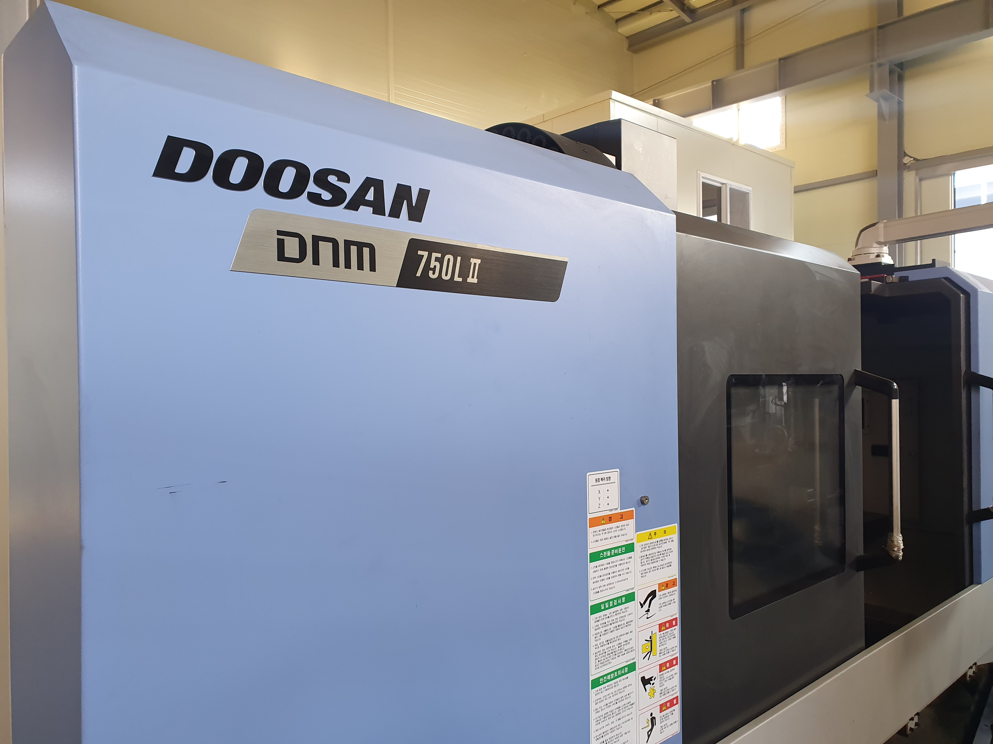 Used Vertical Machining Center Doosan DNM750 L II 2018