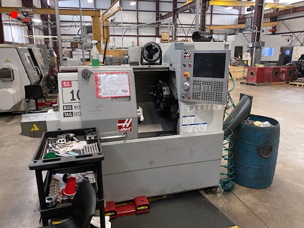 Used CNC Turning Center Haas SL-10BB 2009