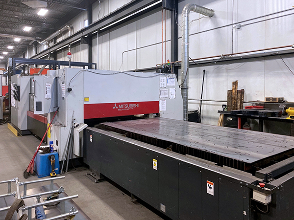 Used Laser Cutting Machine Mitsubishi ML3015LVPlus 2008