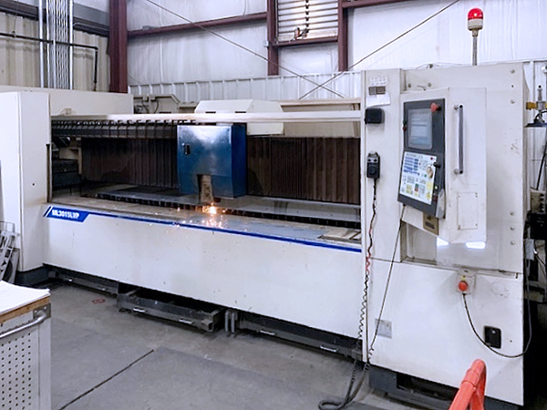 Used Laser Cutting Machine Mitsubishi ML3015LVP 2004