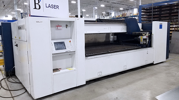 Used Laser Cutting Machine Trumpf TruLaser 1030 2010