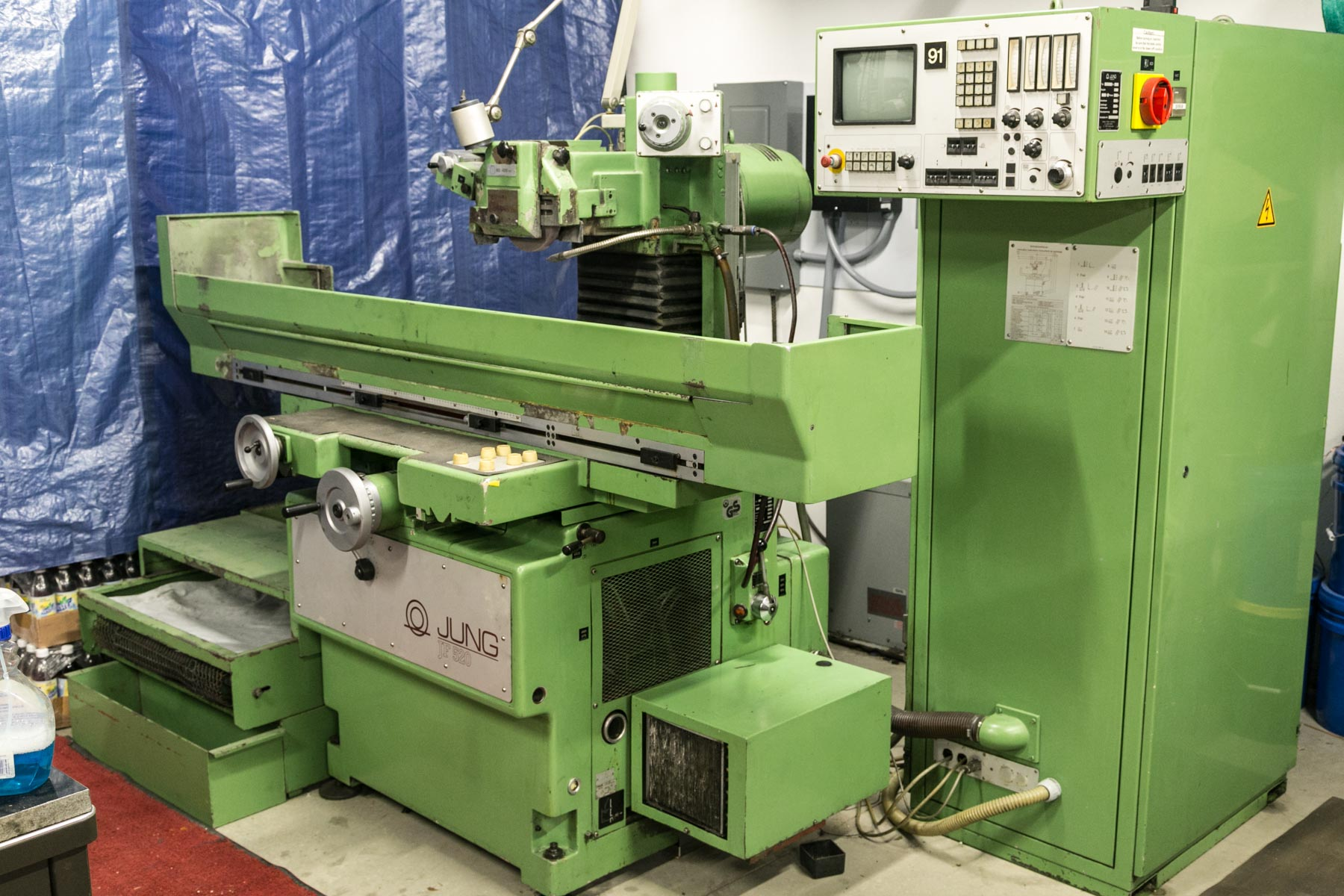 Used Surface Grinders Jung JF 520 MS 1987