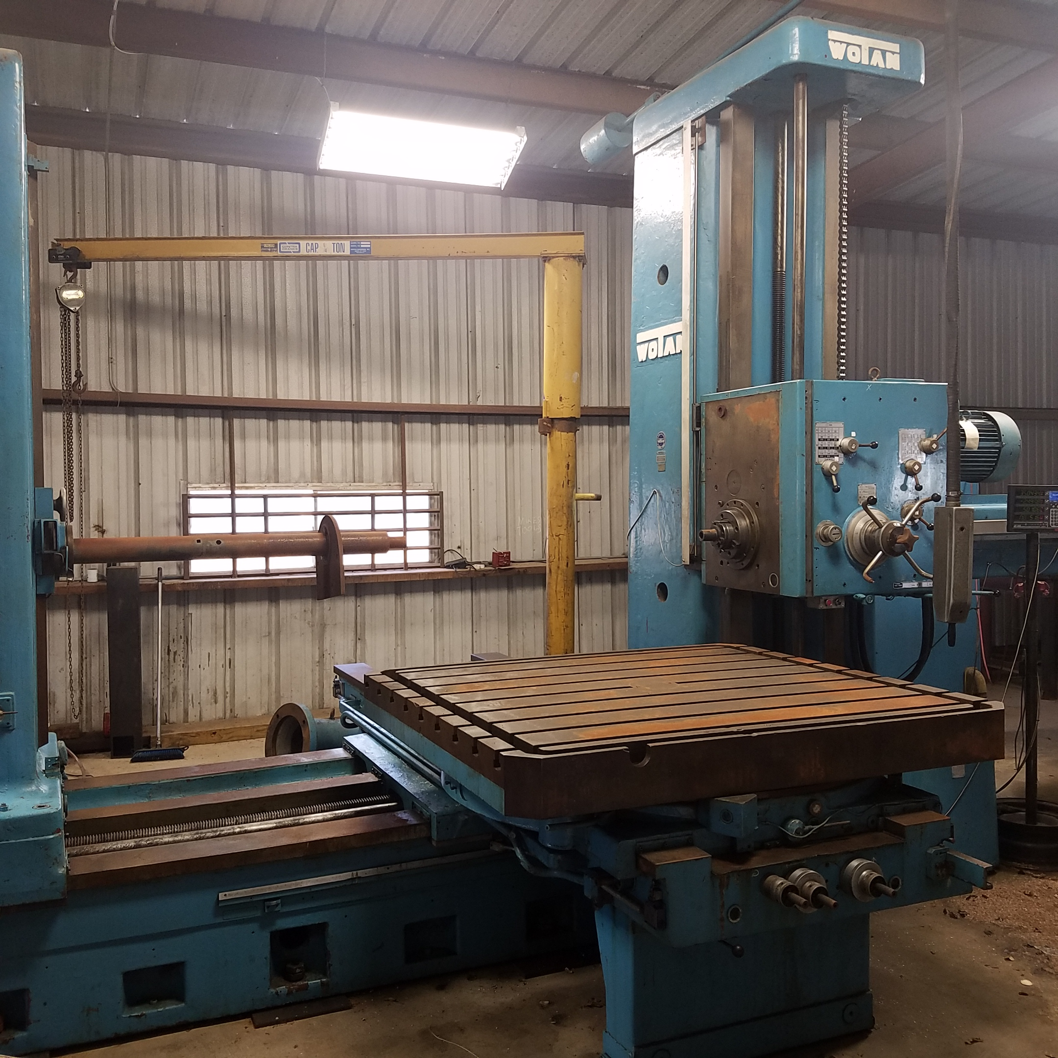 Used Horizontal Boring Mill Wotan B130S 1970
