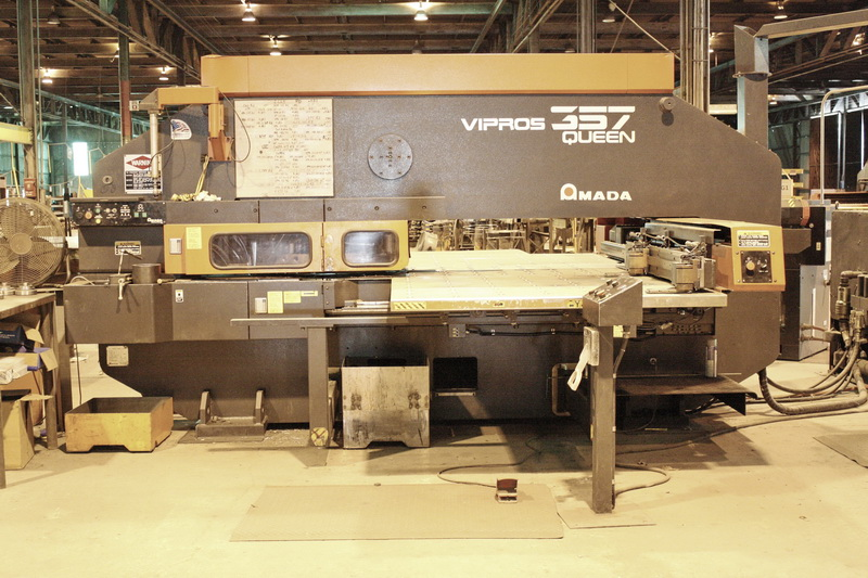 Used Turret Punch Amada Vipros 357 Queen 2001