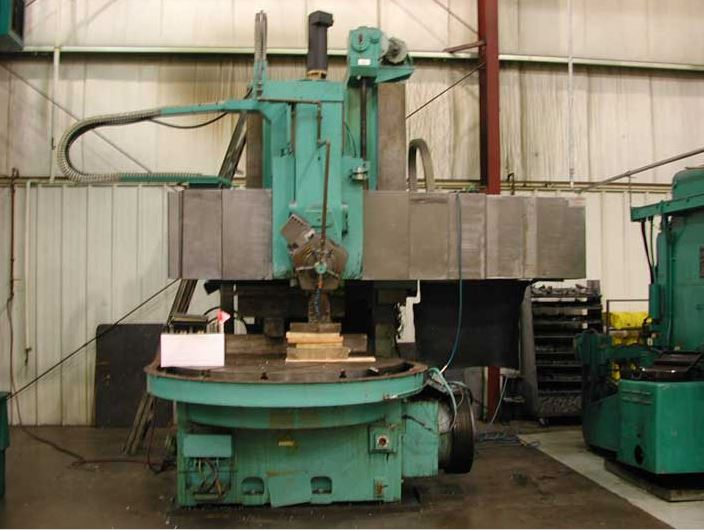 Used Vertical Boring Mill Webster & Bennett S/T/2 Series S 1981
