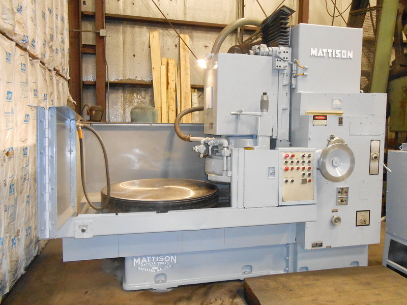 Used Surface Grinders Mattison 42-48 1980