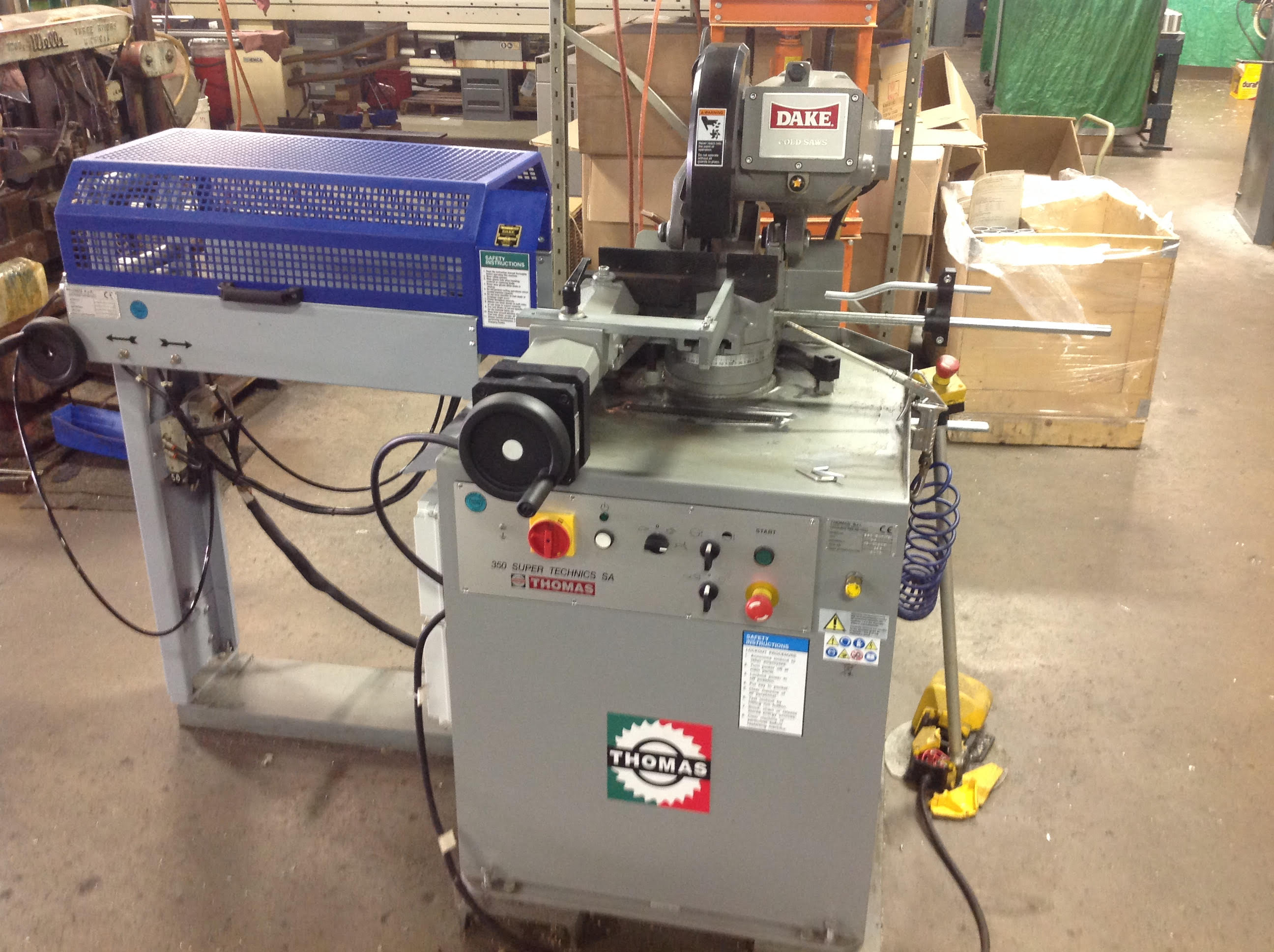 Used Vertical Band Saw Dake Thomas 350 Super Technics SA 2012