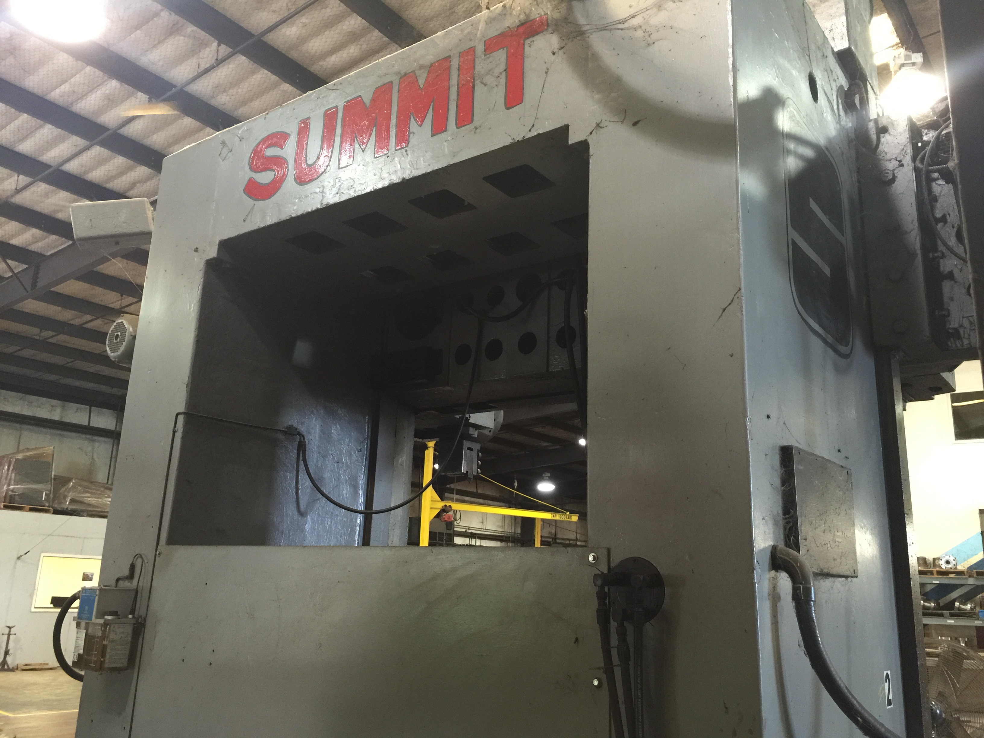 Used Vertical Boring Mill Summit 59 Inch