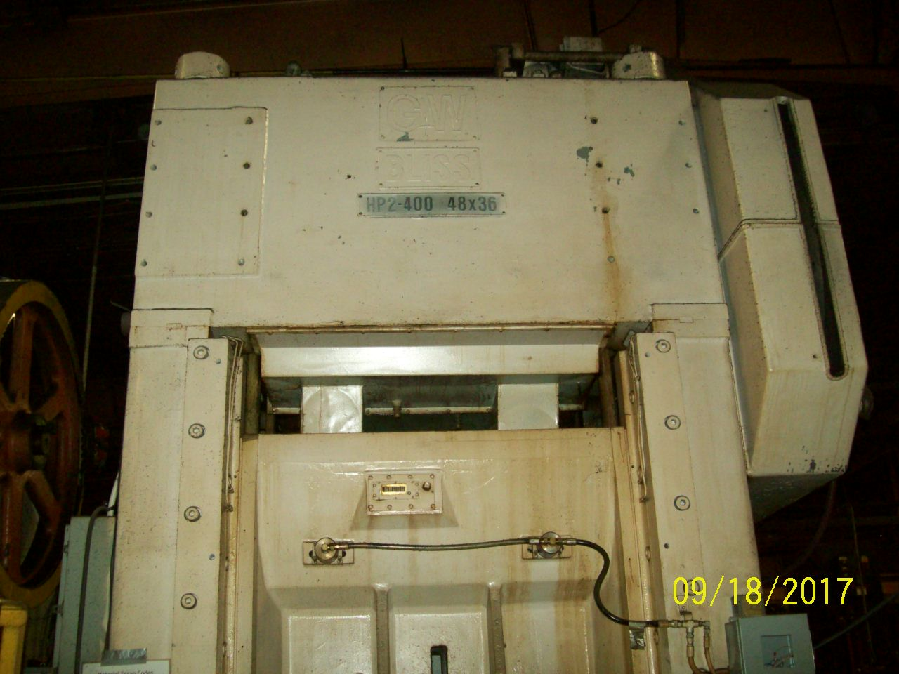 Used Straightside Press  Bliss HP2-400 1973