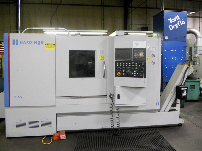 Used CNC Lathe Hardinge SR200 Big Bore 2008