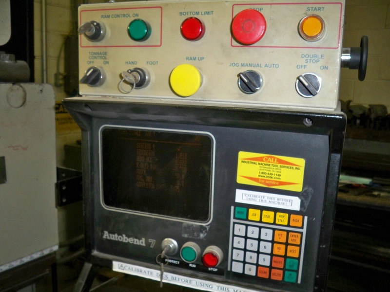 Used Hydraulic Press Brake Premier 10120-R 1999