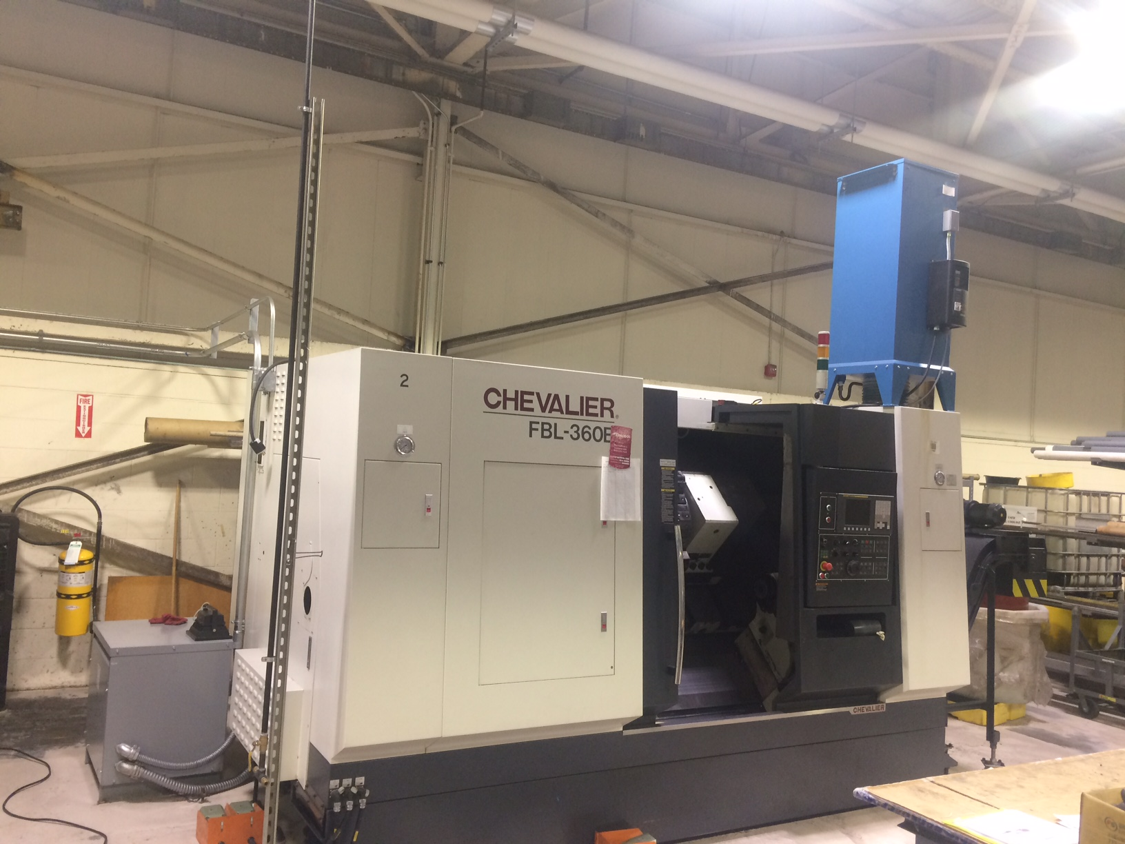 Used CNC Lathe Chevalier FBL-360B 2013