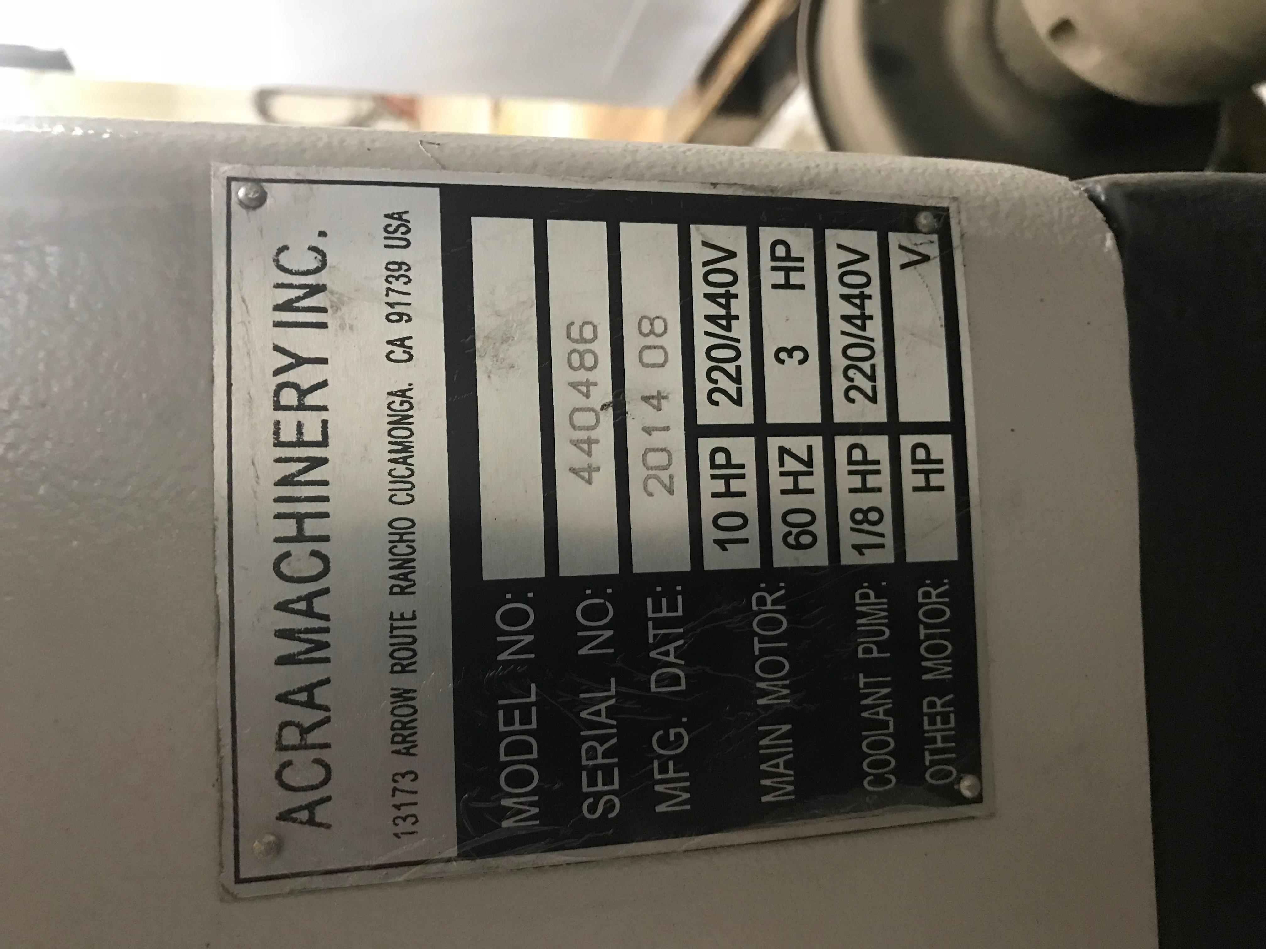 Used Engine Lathe Accord AYL-22120 2014