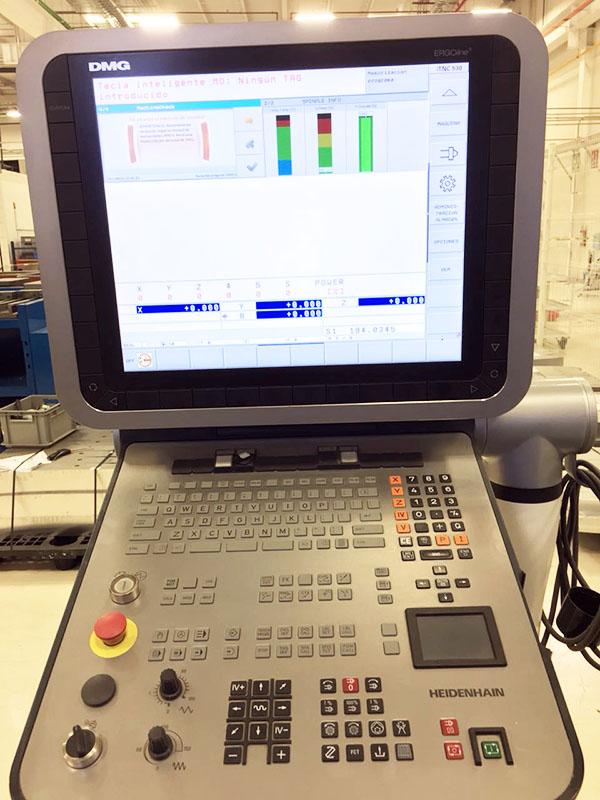 Used 5 Axis Machining Center DMG Mori DMU 100 MonoBlock 2013