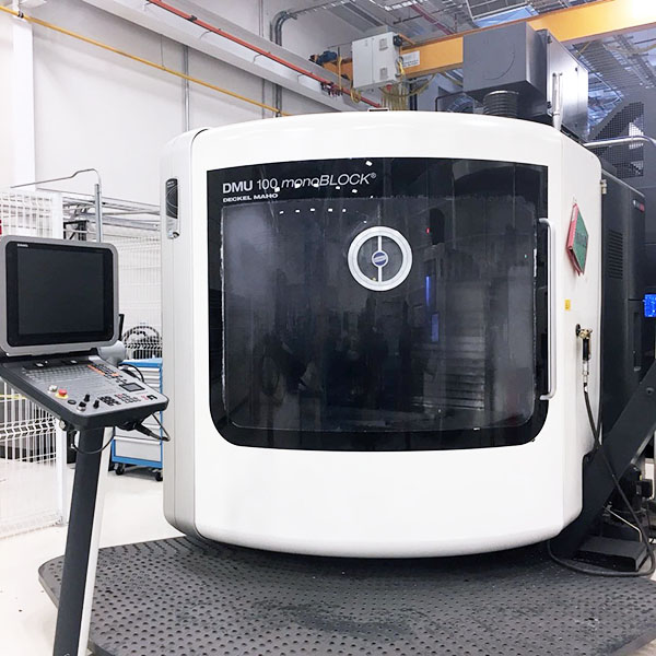 Used 5 Axis Machining Center DMG Mori DMU 100 MonoBlock 2013
