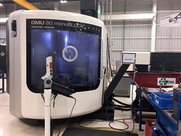 Used 5 Axis Machining Center DMG Mori DMU 80 MonoBlock 2013