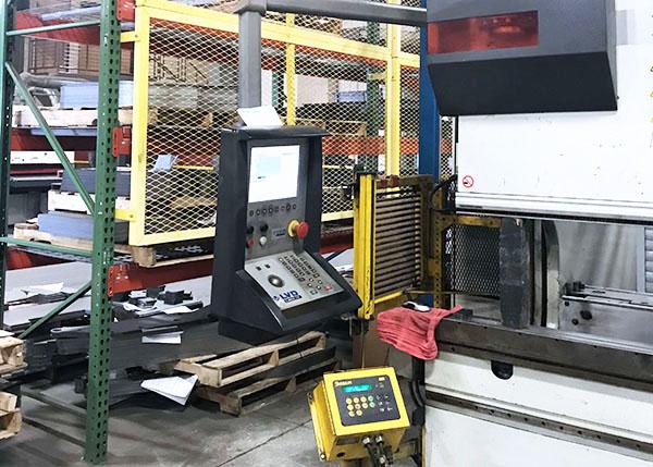 Used Hydraulic Press Brake LVD PPEB 150BH10 2004