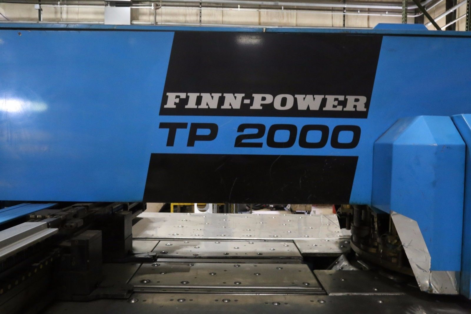 Used Turret Punch Finn-Power TP 2000 1991