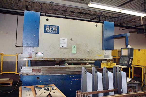 Used Hydraulic Press Brake AFM Fabtek EP10-180 1998