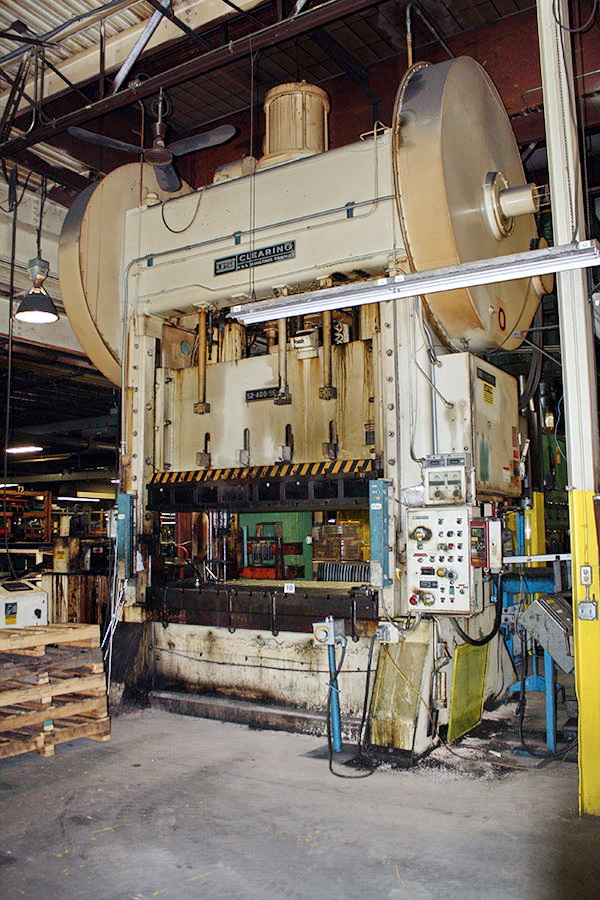 Used Straightside Press  Clearing S2-400-96-60 1951