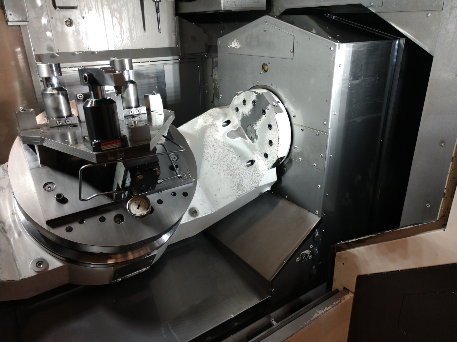 Used 5 Axis Machining Center Okuma MU-6300V 2015