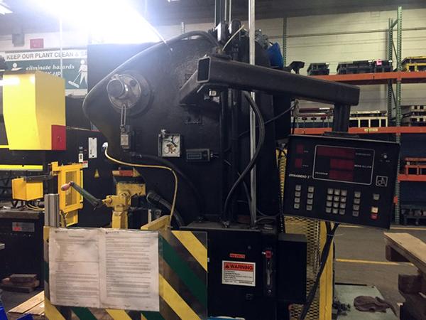Used Hydraulic Press Brake Wysong H-2052 1995