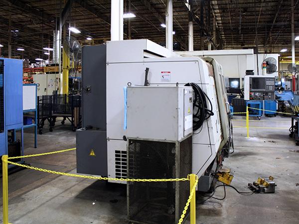 Used Twin Turret Turning Center Okuma LU300 2SC-1000 2006
