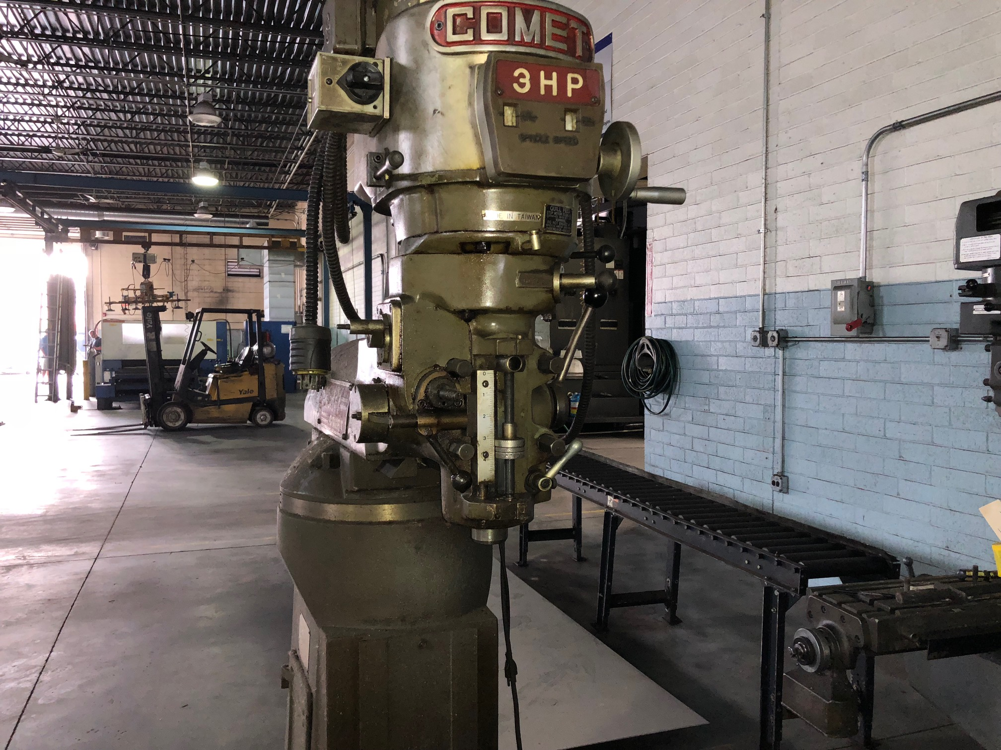 Used Vertical Boring Mill Comet