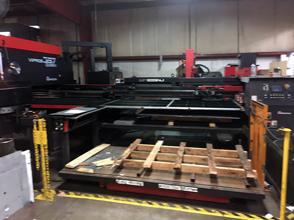 Used Turret Punch Amada MP1225NJ 2000