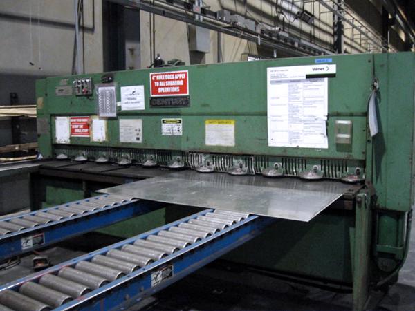 Used Hydraulic Shear  Cincinnati Century 2H10 1982