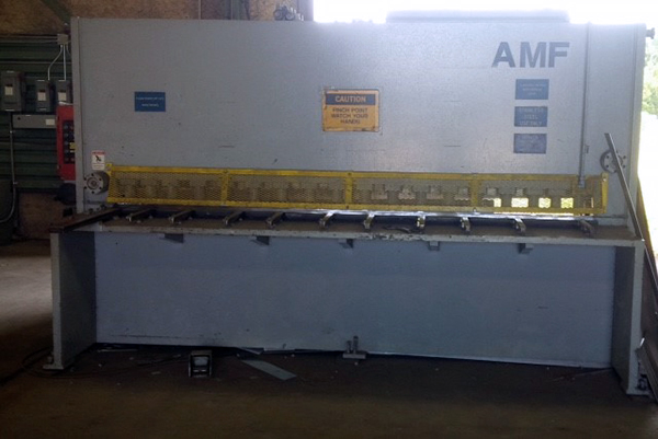 Used Hydraulic Shear  AMF HS3013 1998