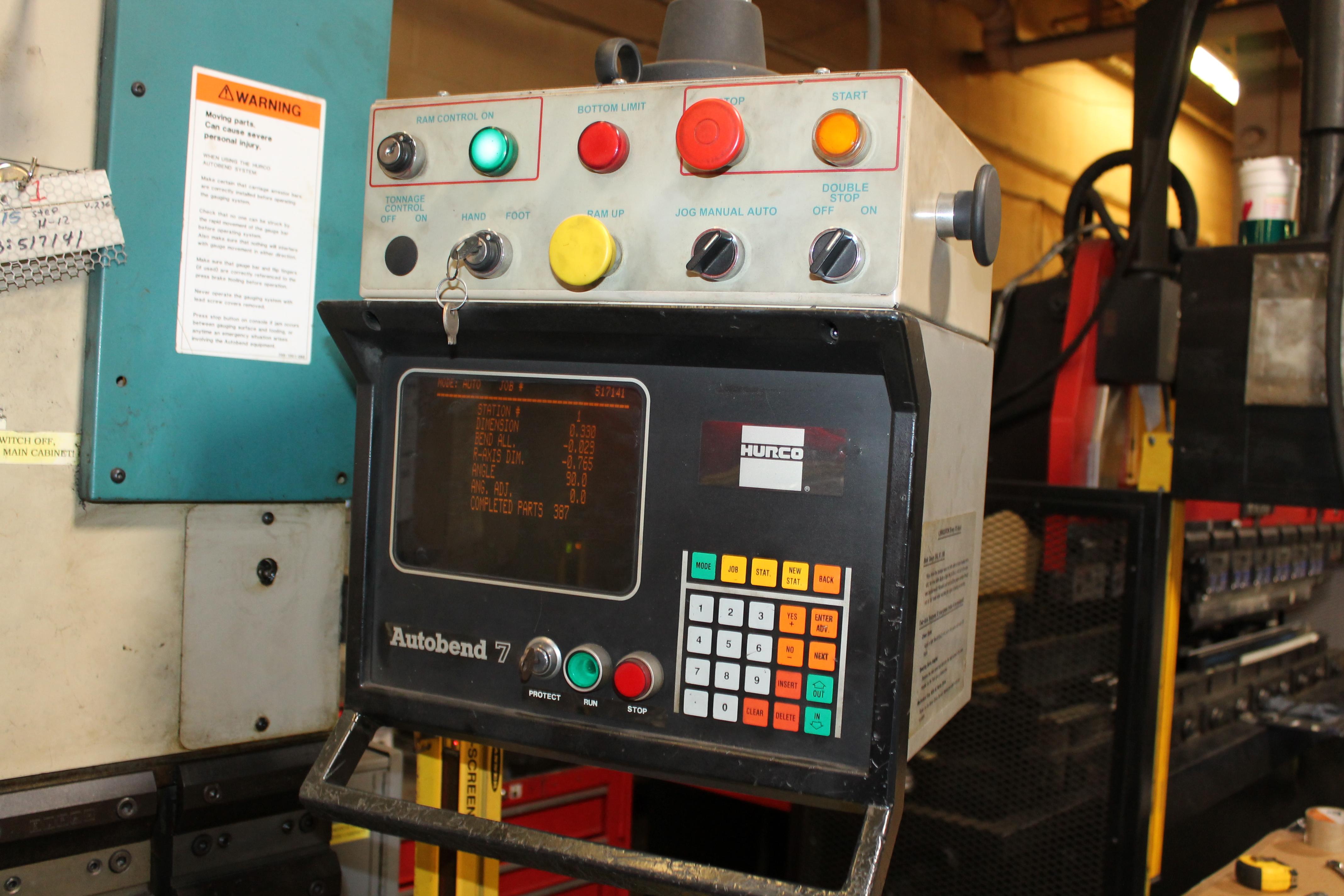 Used Hydraulic Press Brake Premier 540-R-LQ 1998