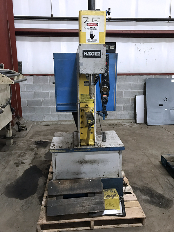 Used Insertion Press  Haeger HP6
