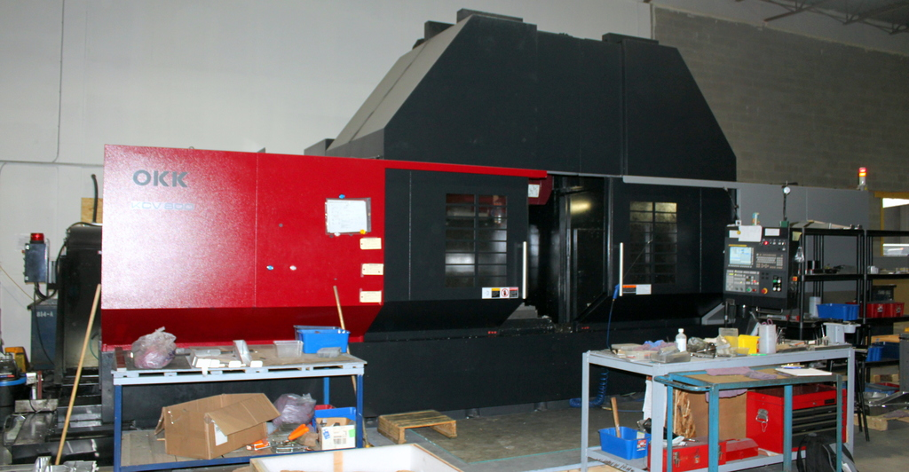 Used 5 Axis Machining Center OKK KCV800-5AX 2015