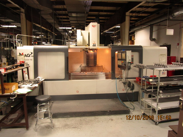 Used Vertical Machining Center Fadal 8030 HT 2007