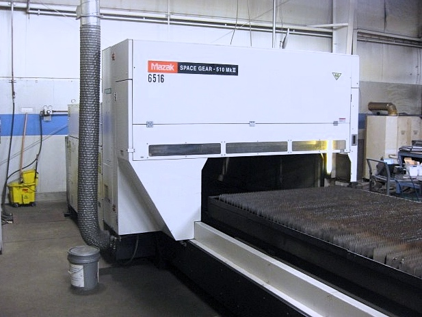 Used Laser Cutting Machine Mazak Space Gear 510MKII 2006