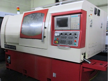 Used CNC Lathe Ganesh Cyclone-32 CS, CB 951006 2006