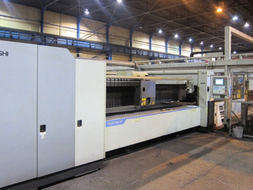Used Laser Cutting Machine Mitsubishi ML3718 LVP Plus 2007