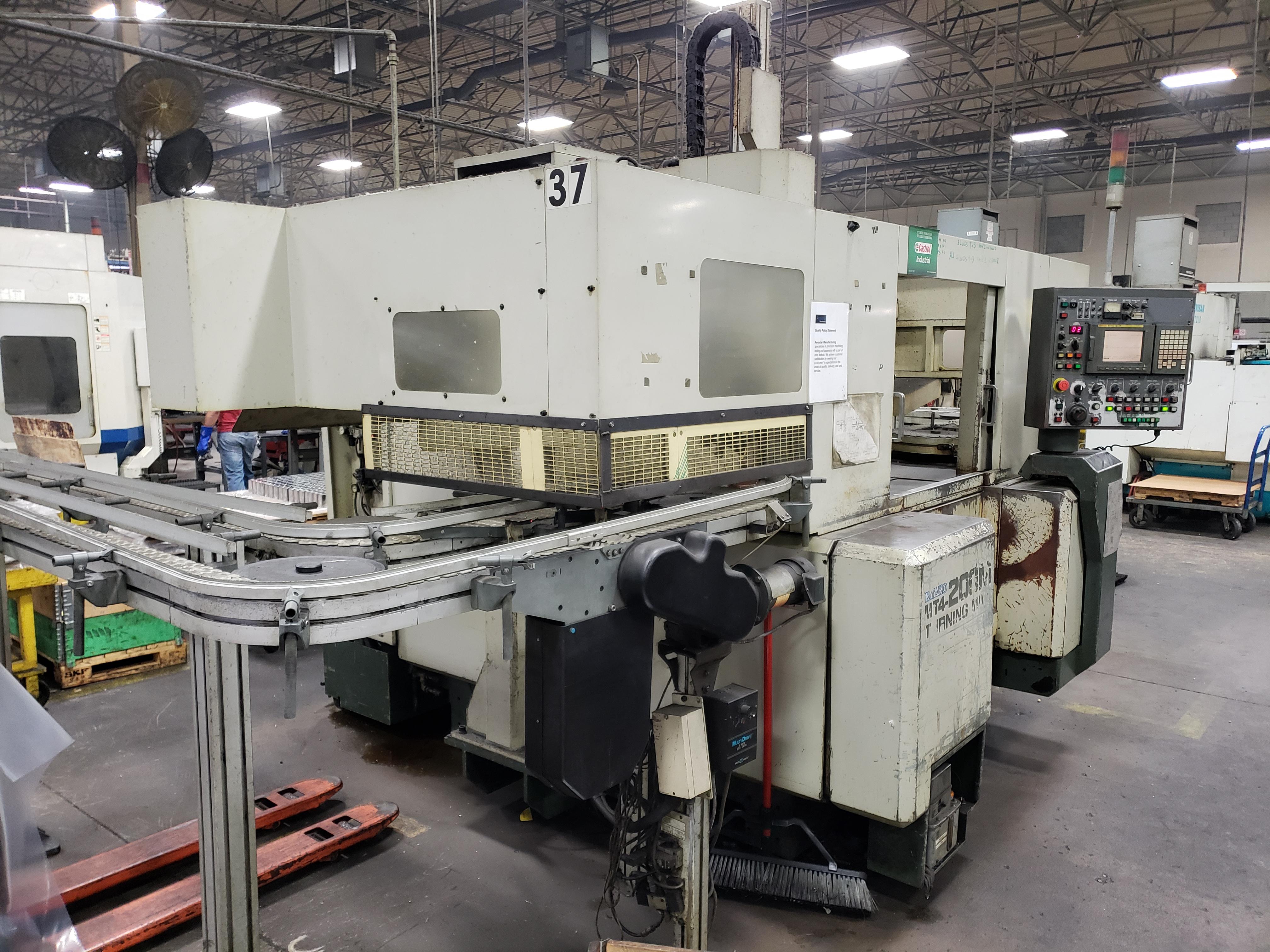 Used CNC Multi-Spindle Lathe Kitako MT4-200M 2000