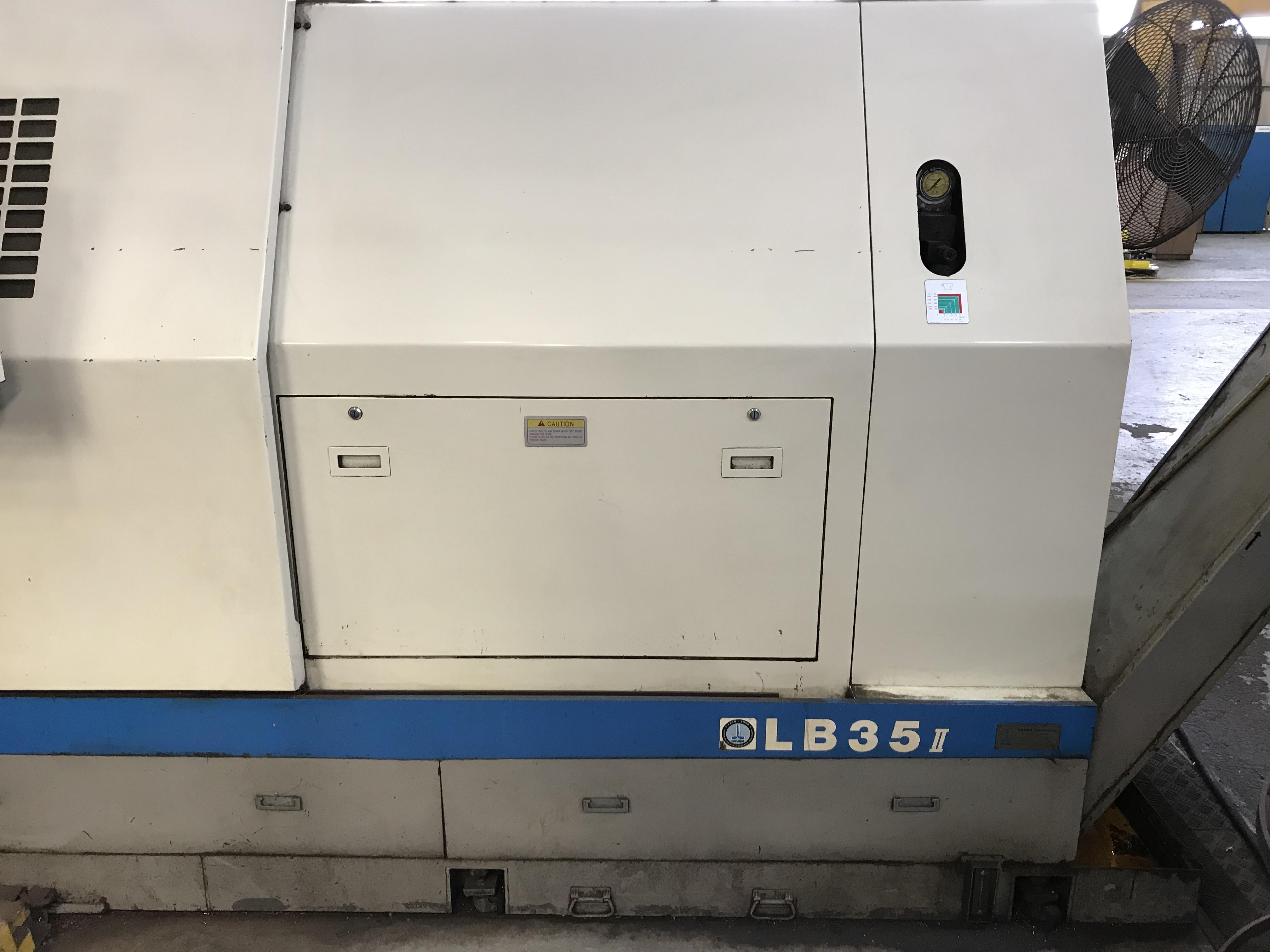 Used CNC Lathe Okuma LB-35II 1998