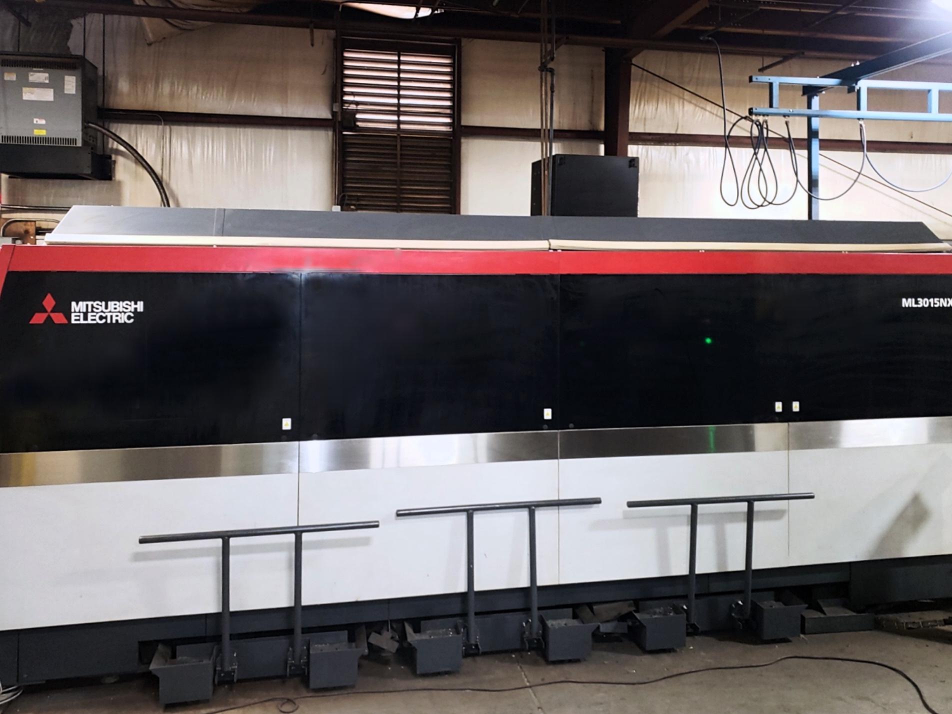 Used Laser Cutting Machine Mitsubishi ML 3015 NX F-40 Fiber 2016
