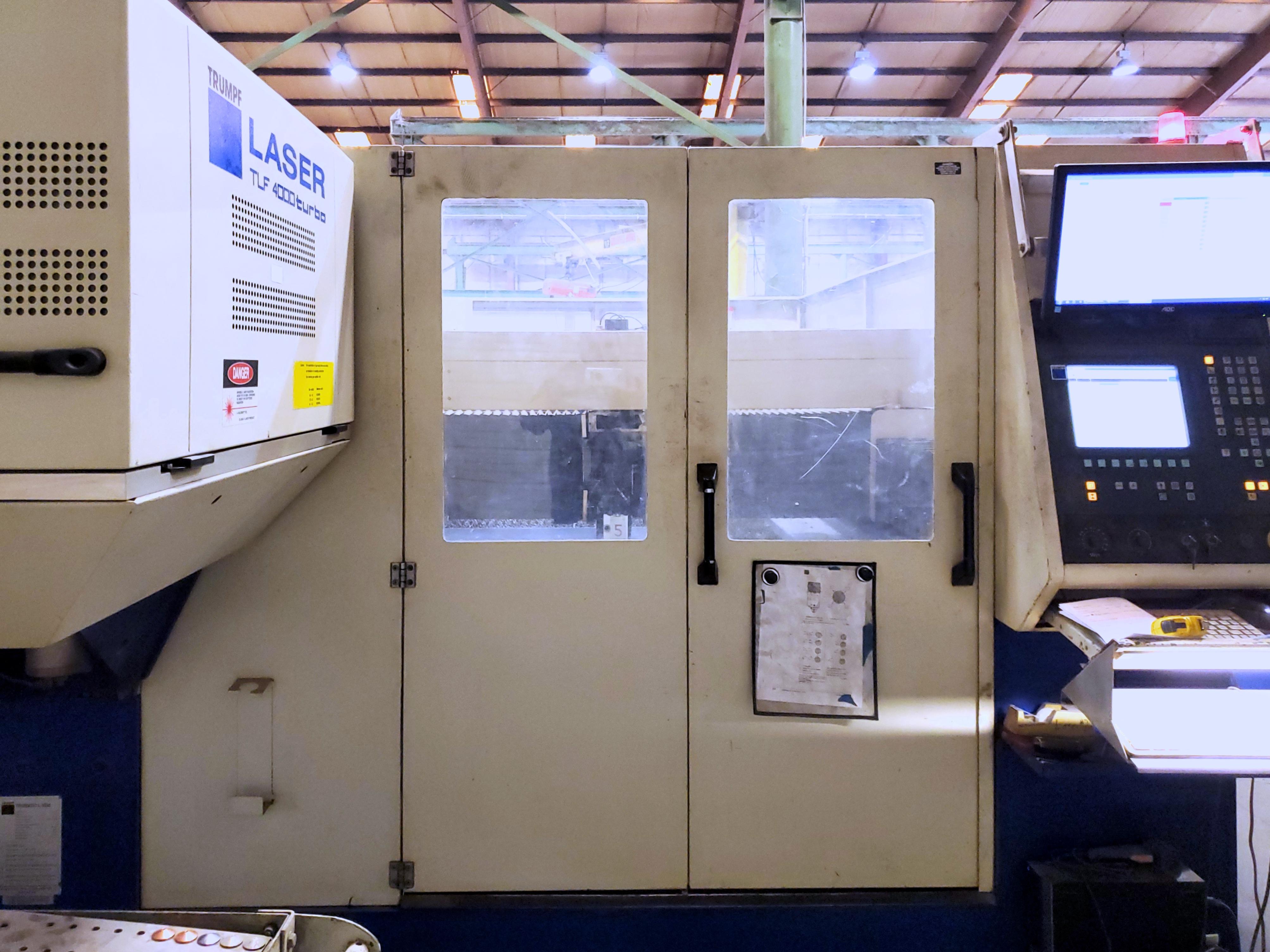 Used Laser Cutting Machine Trumpf Trumatic L3030 2001
