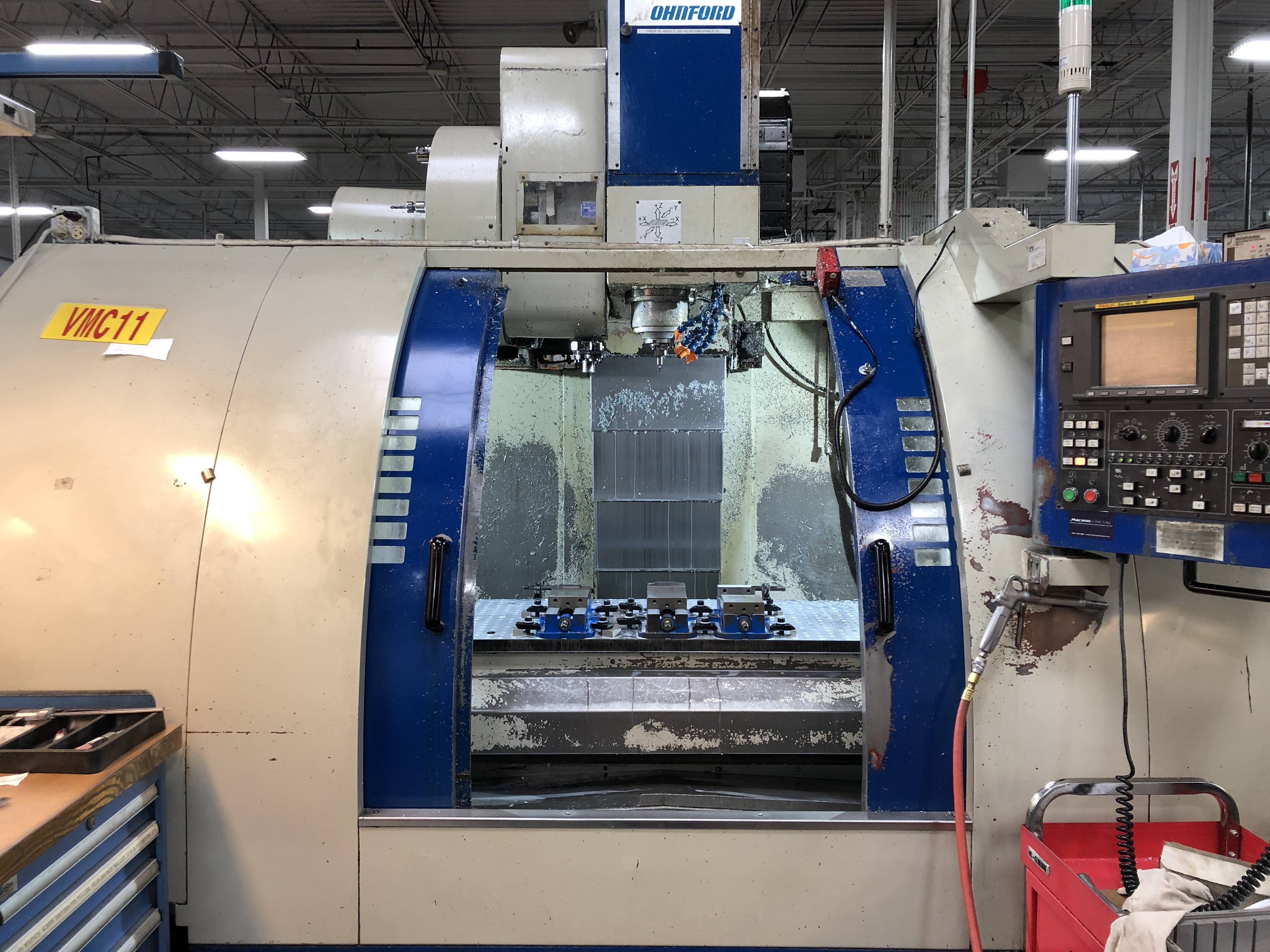 Used Vertical Machining Center Johnford SV-45 2000