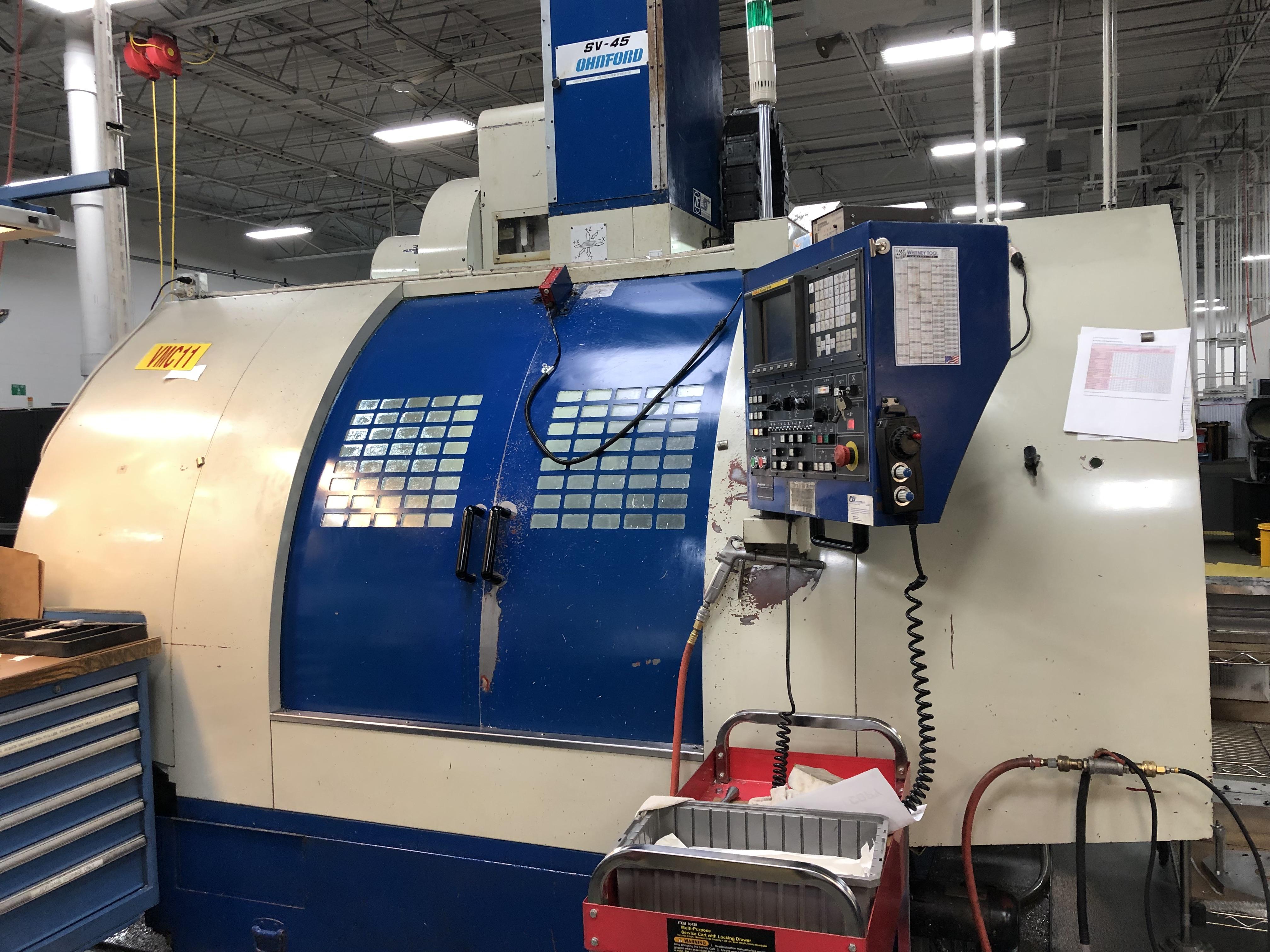 Used Vertical Machining Center Johnford SV-45 2000