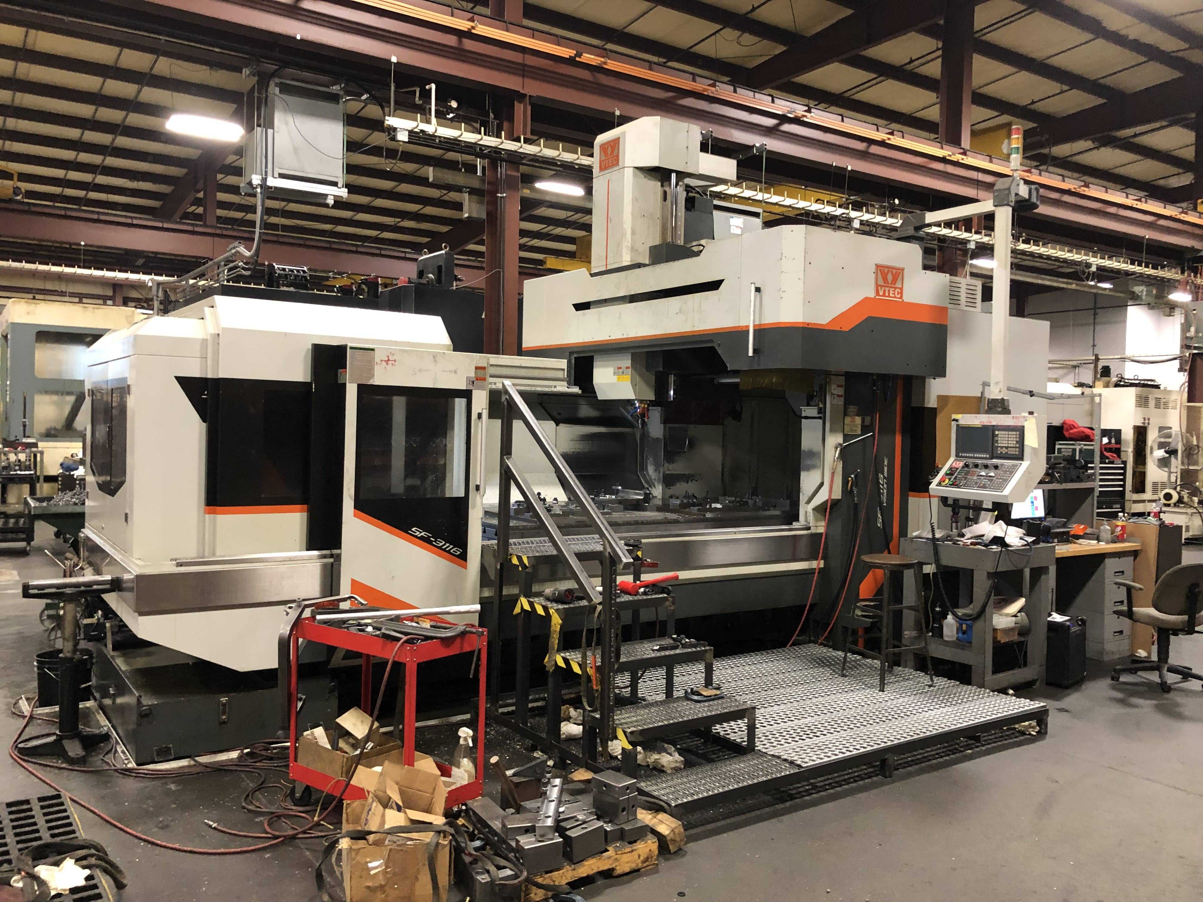 Used Gantry Machining Center Vision Wide SF-3116 2012