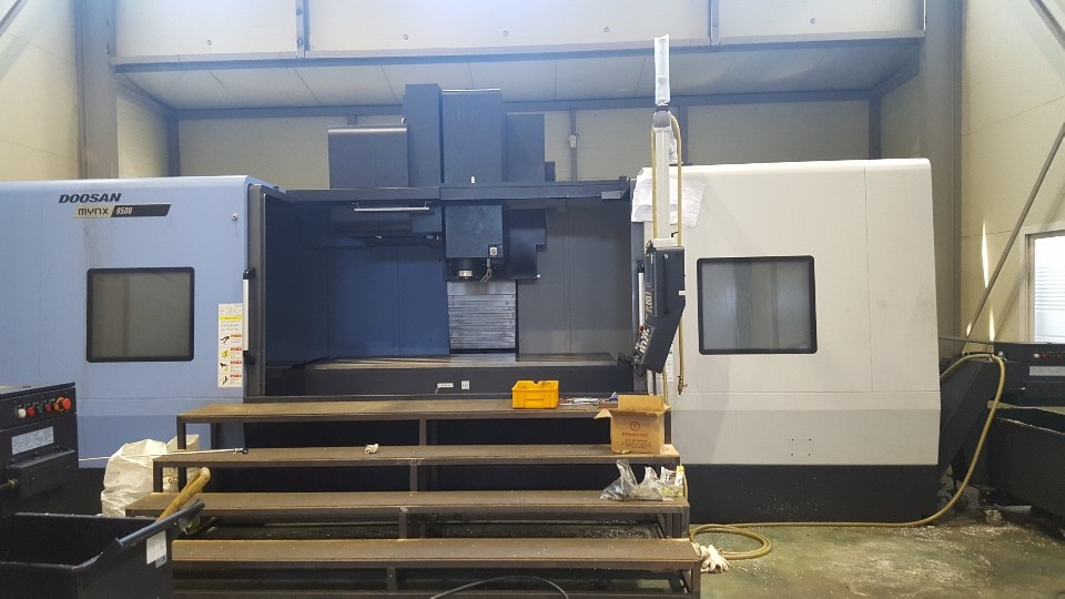 Used Vertical Machining Center Doosan Mynx 9500 2018