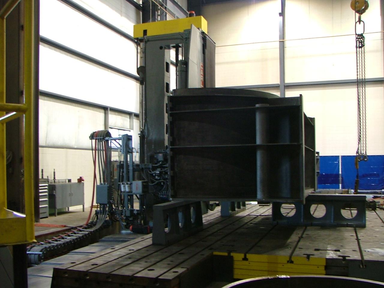 Used Horizontal Boring Mill Carlton 6HDB Heavy Duty 1980