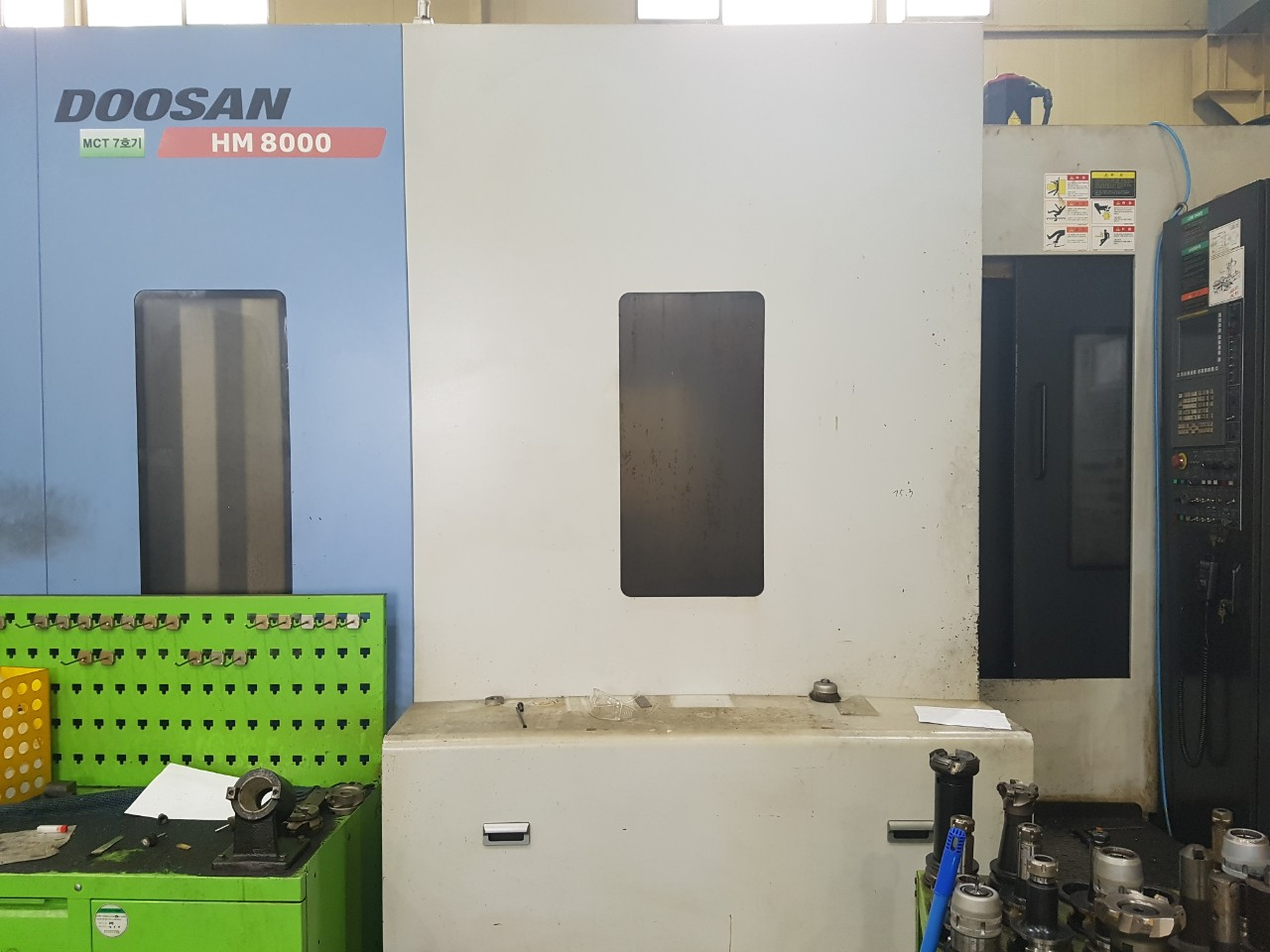 Used Horizontal Machining Center Doosan HM8000 HMC 2011